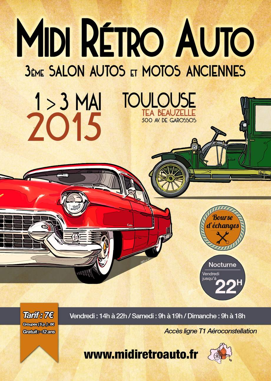 Salon international de Toulouse 1 au 3 mai 2015