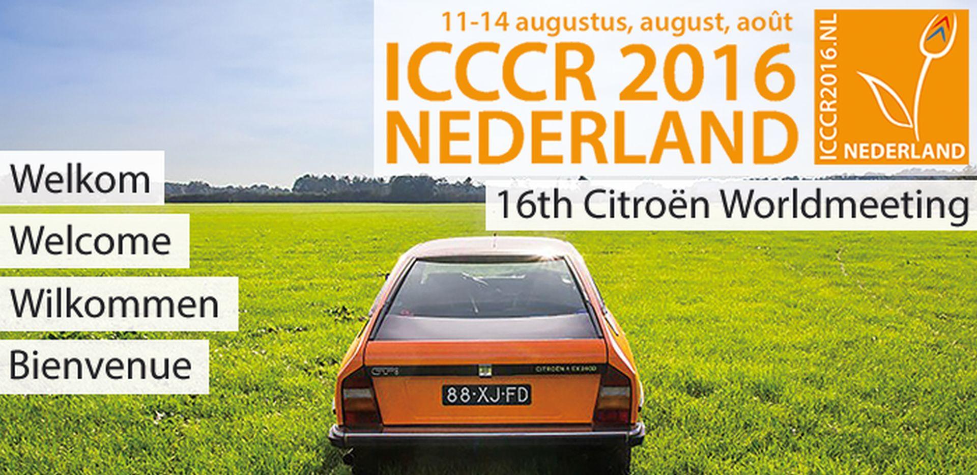 2016 ICCCR Pays Bas