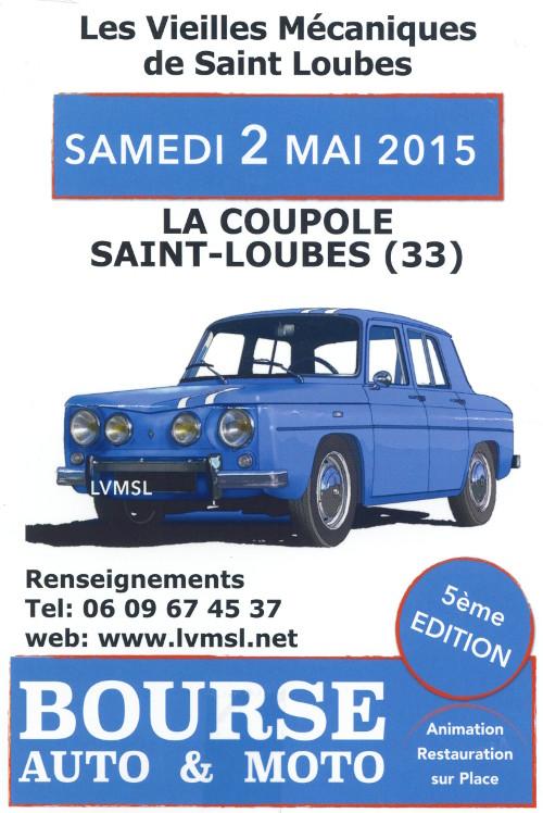 2 Mai bourse à St Loubès Gironde