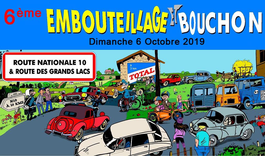 6 ème édition de l'Embouteillage et Bouchon de la Route Nationale 10 – 2019 – cliquez sur l'image