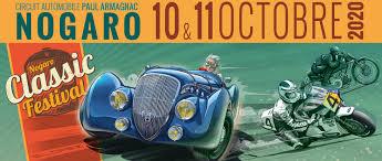 Classic Festival à Nogaro 10 et 11 Octobre 2020