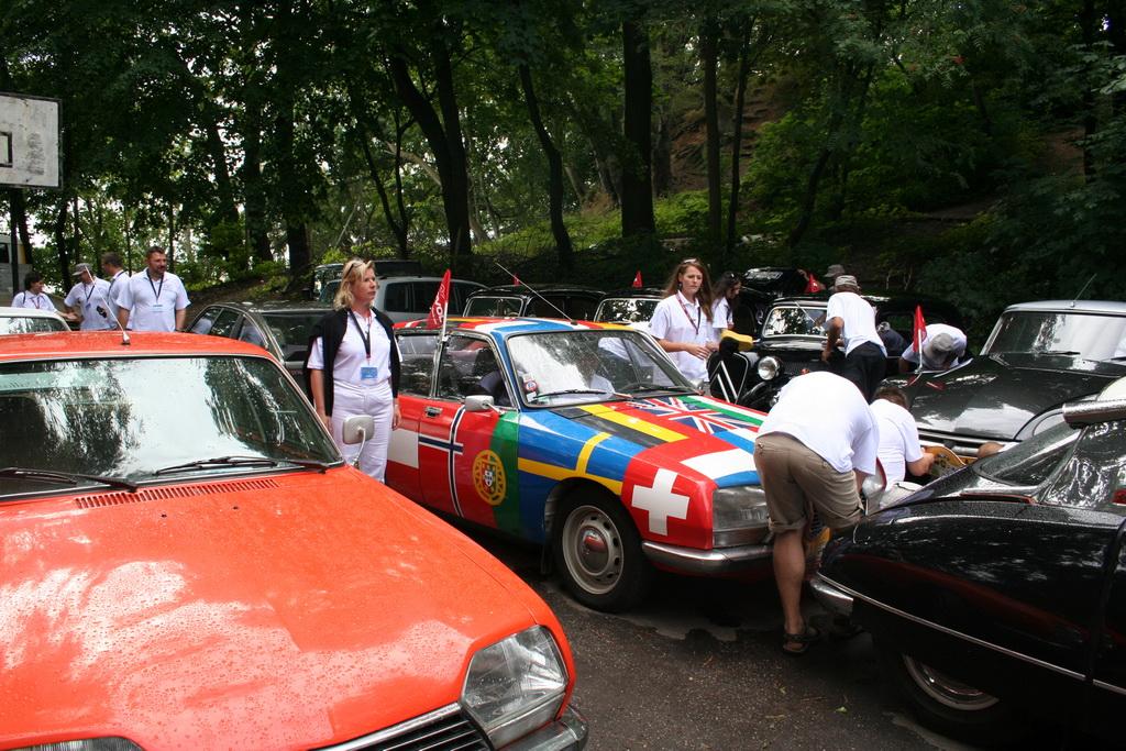 Tournée Européenne de la GS à Drapeaux Avec ACI 2011